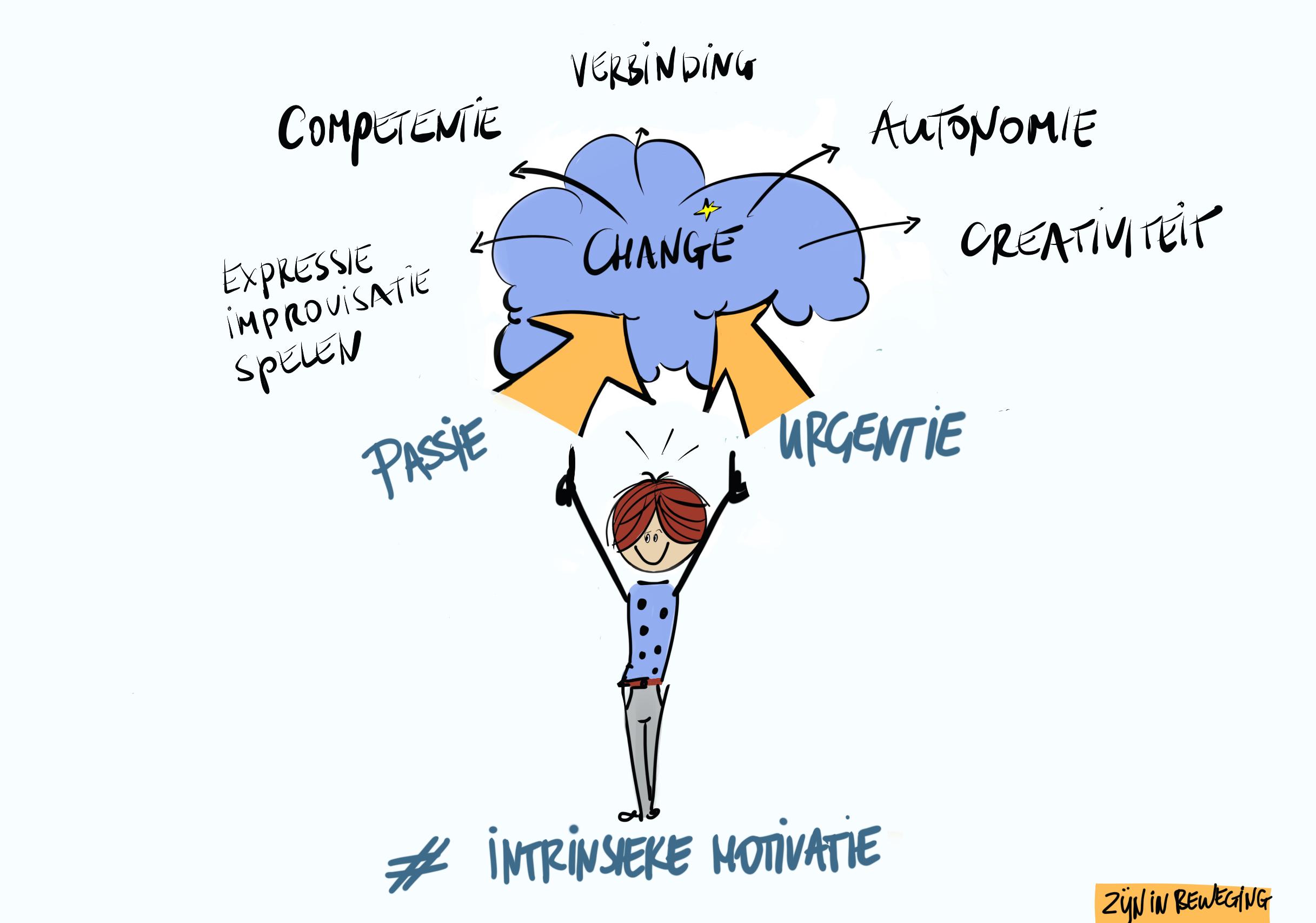Intrisieke Motivatie - ZIJN in beweging